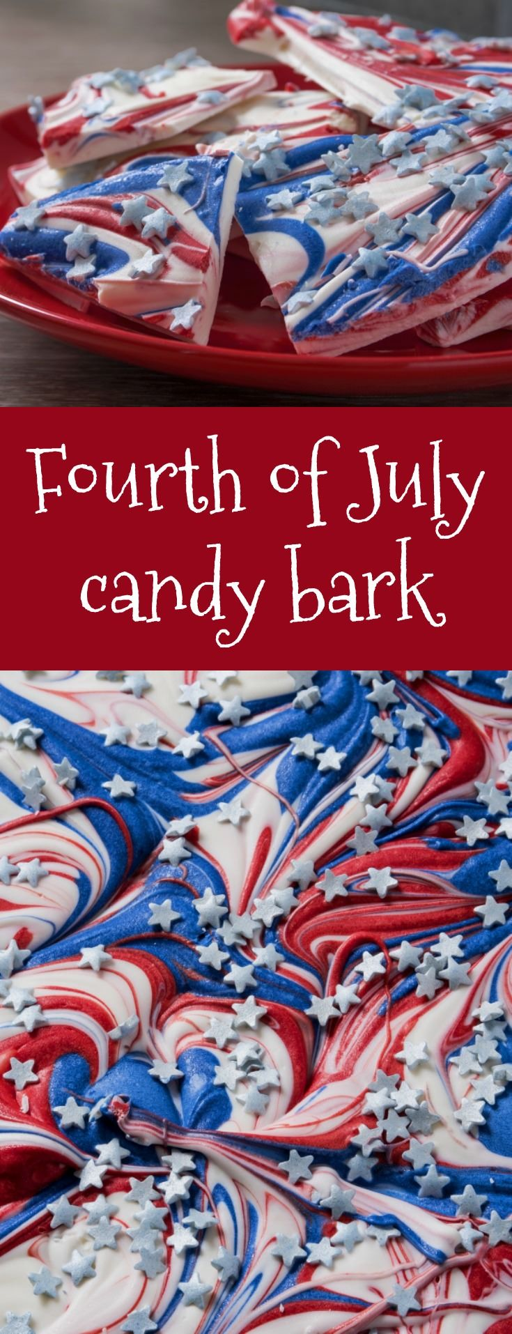We Can't Stop Craving This EASY Fourth of July Candy Bark Recipe!