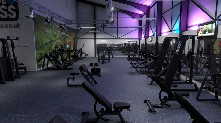 3d Visual For New Age Fitness Gym Gym Workouts Gym Bedroom Design