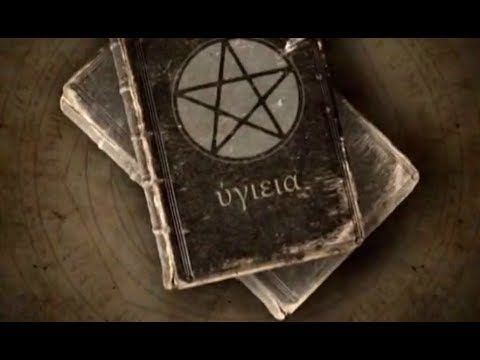 Kniha s ČERNOU MAGIÍ - dokument