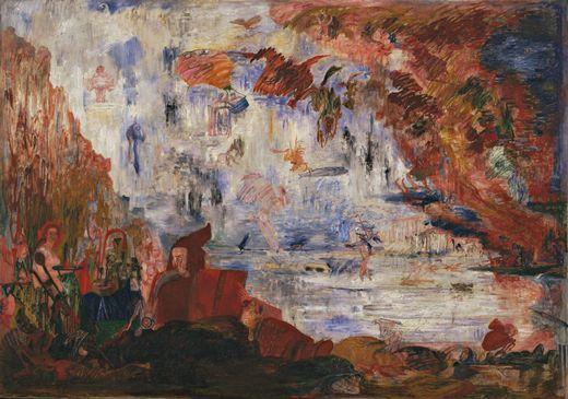 Tribulations of Saint Anthony  by James Ensor