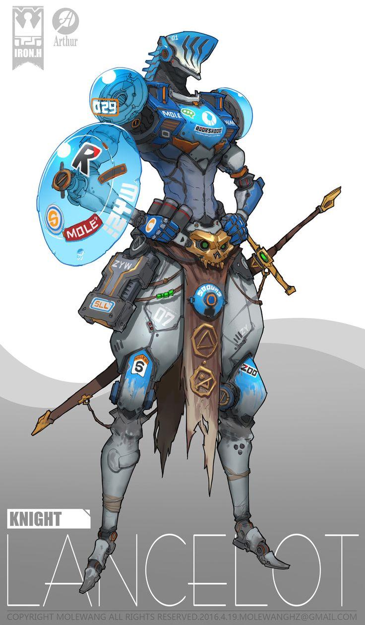 Cavaleiro cibernético Lancelot