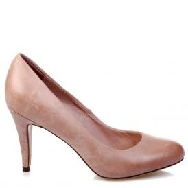 A classic nude court shoe - goes with everything! I'd get it in black as well.