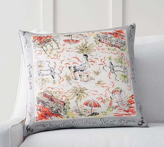 silky soft and in vivid hues our pillow cover is a fanciful spot to relax and dream of summer any time of year