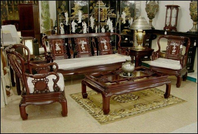 Antique Wooden sofa Set Designs