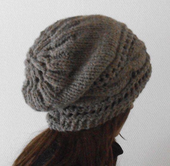 Sombrero de lana de mujer de invierno. Sombrero gorros tejidos