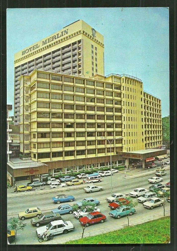 Merlin Hotel  now Concorde Hotel, KL   Memories     Kuala