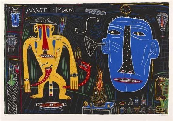 Norman Catherine, MUTI-MAN