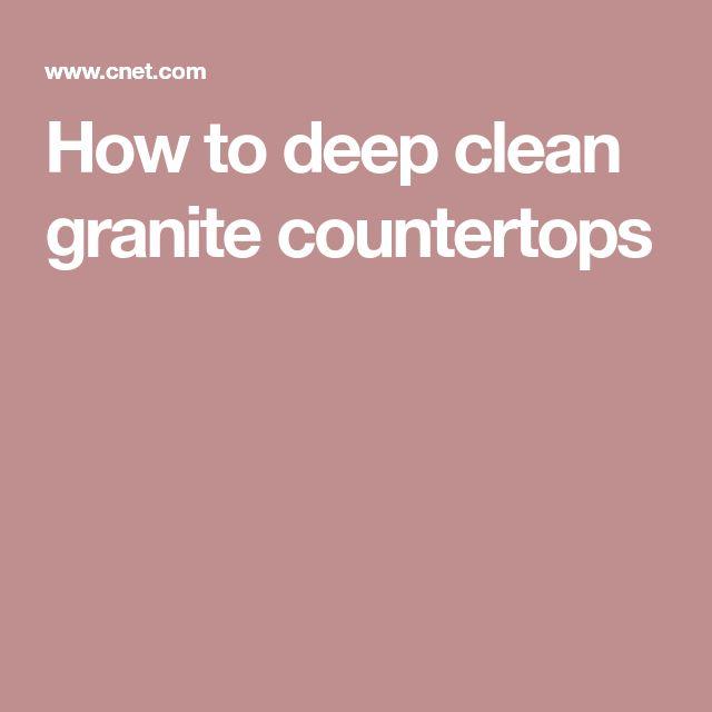 Die besten 25+ Sauber granit Ideen auf Pinterest Wie man granit - quarzstein badezimmer