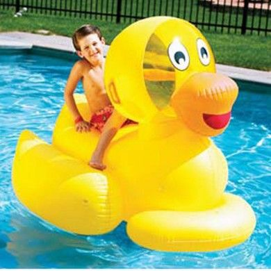 Swimline Giant Ducky Inflatable Pool Toy. Giant Inflatable Ducky Pool Toy  Measures A Huge 60