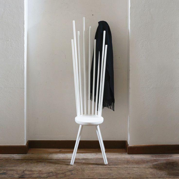 Norrmade - Hang Sitt Hocker mit Garderobe