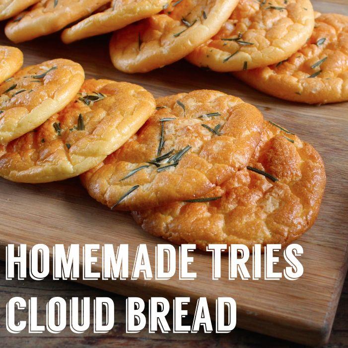 Anyone fancy a cloud bread sarnie?