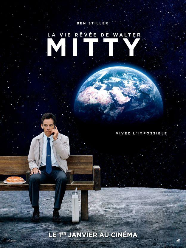 La Vie Rêvée de Walter Mitty (The Secret Life of Walter Mitty). La vie réelle peut-elle surpasser les rêves les plus fous ? #LiveYourDream #Mitty #Cinema