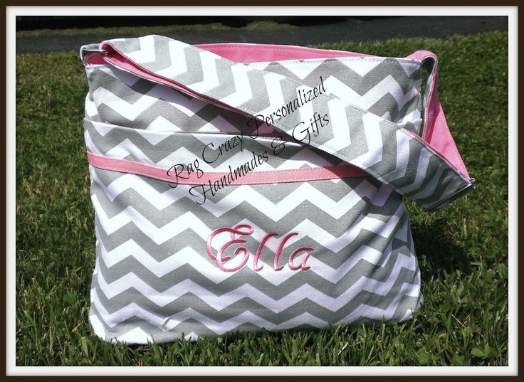 Chevron Diaper Bag - Personalized Diaper Bag - Baby Boy Diaper Bag - Baby Girl Diaper bag by RagCrazy on Etsy https://www.etsy.com/listing/181791226/chevron-diaper-bag-personalized-diaper
