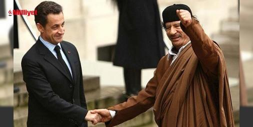 Kaddafiden Sarkozyye destek iddiası: Libyanın öldürülen devrik lideri Muammer Kaddafinin eski Fransa Cumhurbaşkanı Nicolas Sarkozynin 2007 yılındaki seçim kampanyasına mali destek verdiğini kanıtlayan yeni yazılı belgelerin bulunduğu iddia edildi.Fransada skandal haberleri ortaya çıkarmasıyla ünlü Mediapart haber sitesi Libyanın...