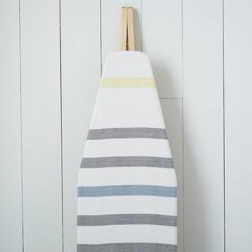 Cotton Ironing Board Cover, Belize Stripe - contemporary - ironing board covers - West Elm