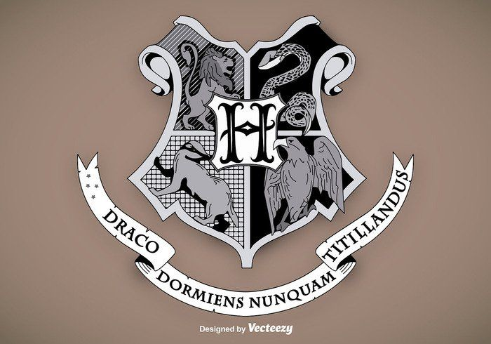 Vector Escudo de Hogwarts School