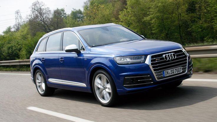 Für den 07.04. Noch mehr Schub im SQ7: Für den 07.05. Audi packt elektrisch den Dampfhammer aus