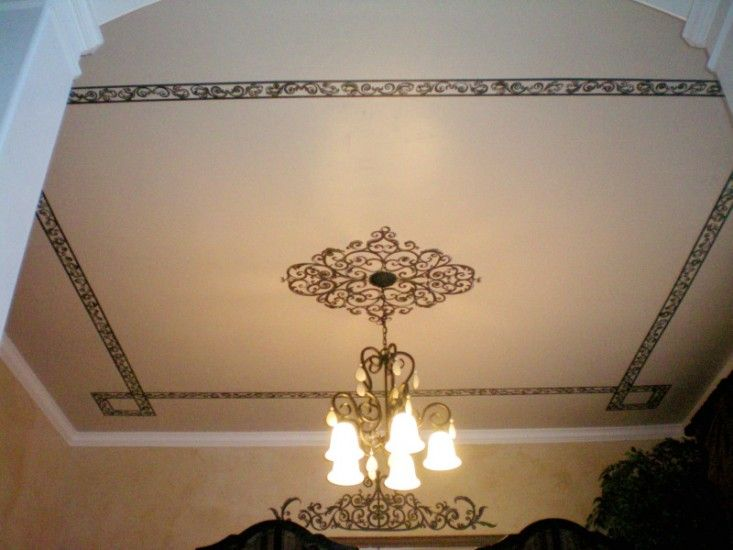 Decorative Ceiling Ideas | Feel Free To Contact Me Regarding Your Painting  Project.
