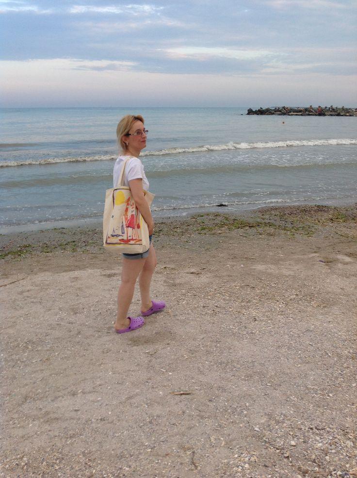 #walking on the #beach