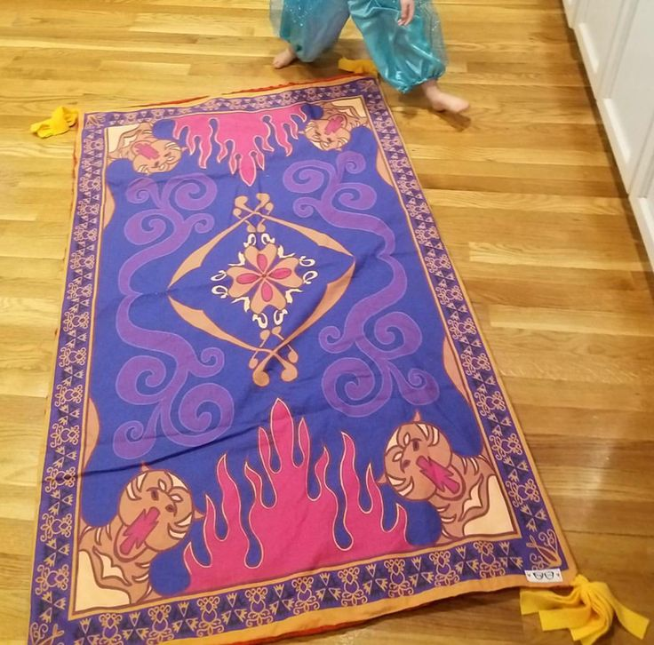 Aladdin Magic Carpet Rug Carpet Vidalondon