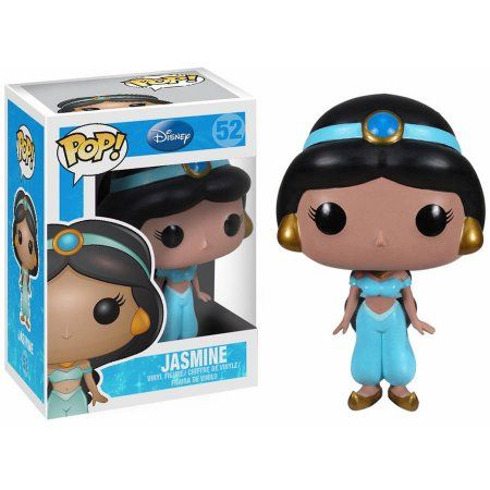 Funko Pop! Disney Jasmine, Multi, Multicolor