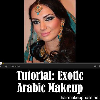 Makeup Tutorial Exotic Arabic Makeup Tutorial Princess Jasmine Make up