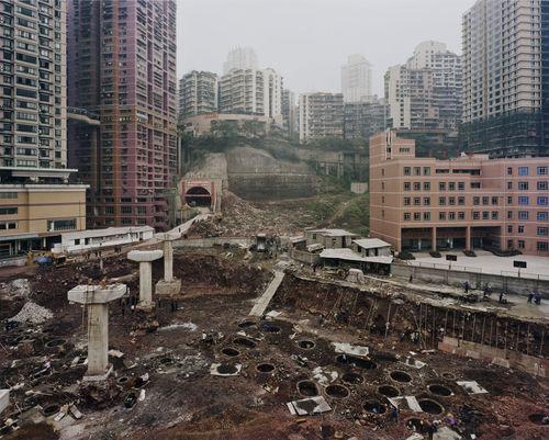 Sze Tsung Leong. Yihaoqiao, Yuzhong District, Chongqing. 2002