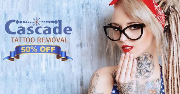 Tattoo Removal - Cascade is Portland's tattoo removal center that offers the highest quality laser treatments at an affordable price. Visit : tattooremovalport... Cascade Tattoo Removal - Quick and Easy Natural Methods & Secrets to Eliminating the Unwanted Tattoo That You've Been Regretting for a Long Time #TattooRemoval