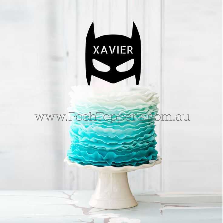 Superhero Silhouette & Custom Name