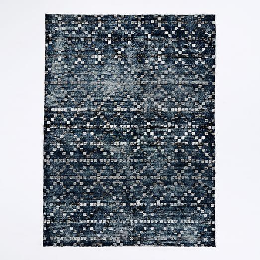 Geo Tufted Wool Rug | west elm