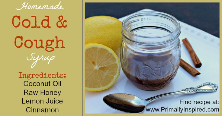 Homemade Cough and Cold Syrup - Primally Inspired