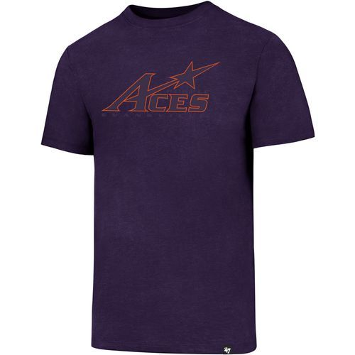 '47 University of Evansville Logo Club T-shirt (Purple, Size Medium) - NCAA Licensed Product, NCAA Men's Tops at Academy Sports
