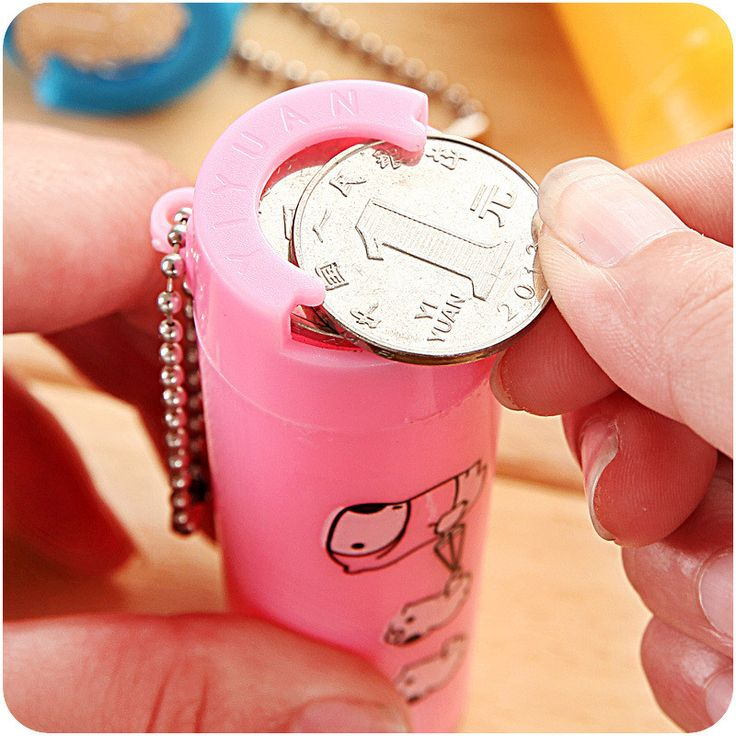 1PC Portable Plastic Piggy Bank
