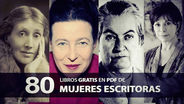 80 libros gratis en PDF de mujeres escritoras | Oye Juanjo!