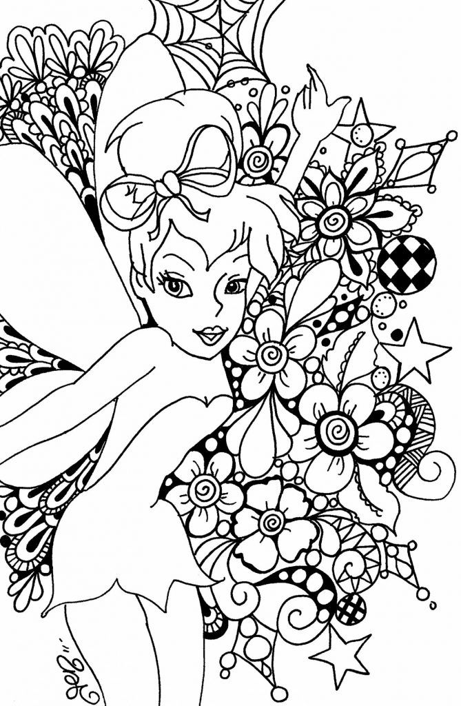 Disney Coloring Pages For Adults - Best Coloring Pages For Kids Tinkerbell  Coloring Pages, Fairy Coloring Pages, Disney Coloring Pages