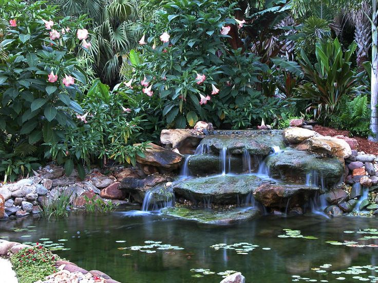 16 best images about pond ideas on pinterest natural for Koi ponds and gardens
