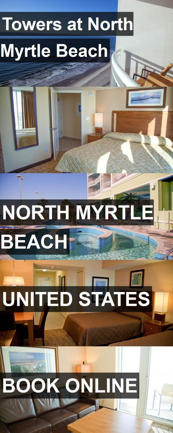 Hotel Towers at North Myrtle Beach in North Myrtle Beach, United States. For more information, photos, reviews and best prices please follow the link. #UnitedStates #NorthMyrtleBeach #TowersatNorthMyrtleBeach #hotel #travel #vacation
