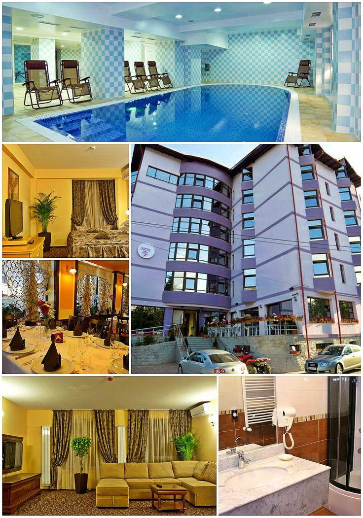Hotelul Dorna de patru stele din Vatra Dornei este locul unde confortul dumneavoastră este asigurat de cele mai bune servicii şi facilităţi şi unde va puteti bucura de o ambianţă caldă, relaxantă şi rafinată, indiferent că sunteţi într-o excursie sau din motive de afaceri. Situat in inima frumoasei staţiuni Vatra Dornei, la baza Pârtiei Parc, Hotelul Dorna pune la dispoziţia dumneavoastră 40 spaţii de cazare dotate modern, camere tip Standard sau Deluxe, apartamente Deluxe si Suite Superior.