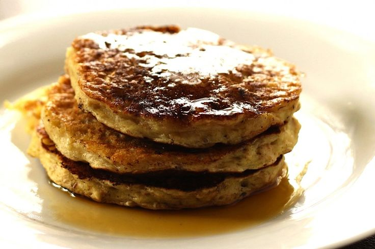 We bet that if you left these oatmeal raisin pancakes out for Santa ...