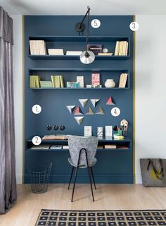 Création d'un espace bureau