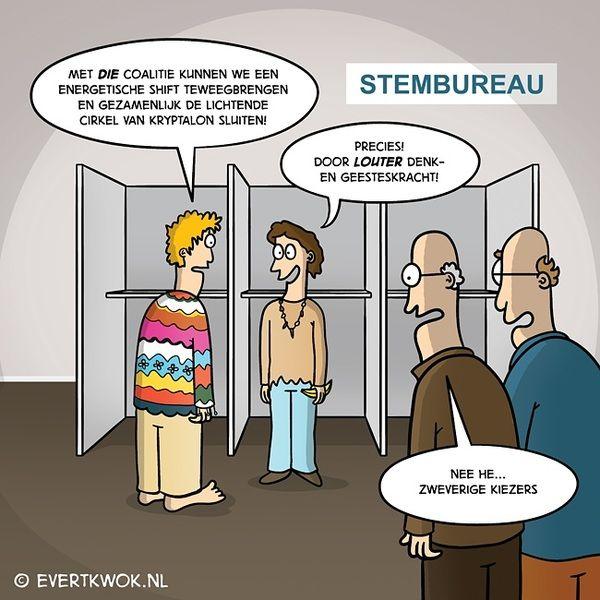 Verkiezingen. #cartoon