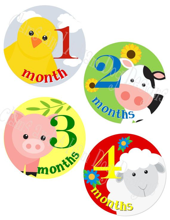 18 Month Stickers: Best 25+ Baby Stickers Ideas On Pinterest