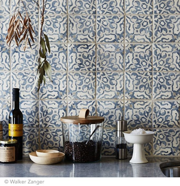 Moroccan and Cement Tile - Becki Owens                                                                                                                                                                                 More