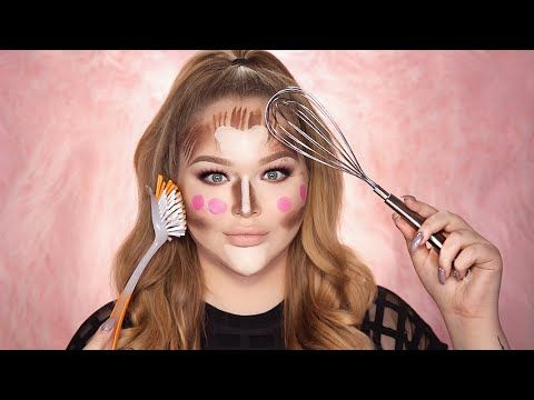 This Makeup Artist Contoured With A Whisk And Fork To Troll Beauty Instagrammers