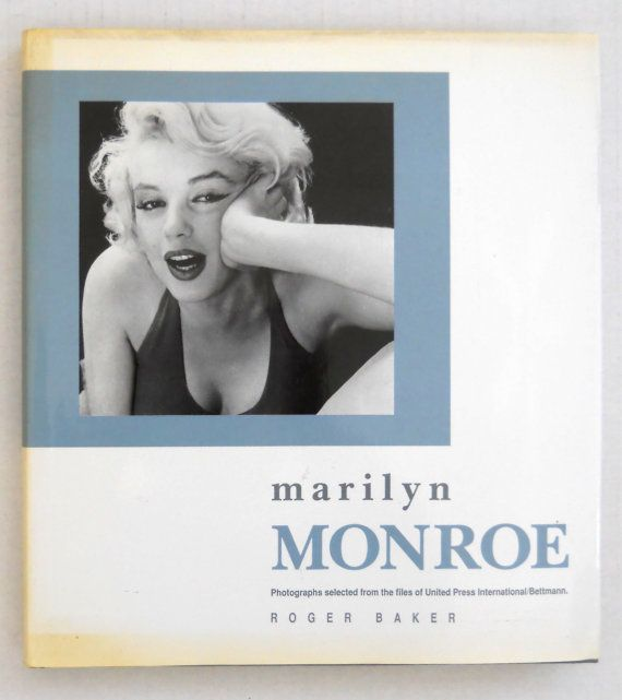 Marilyn Monroe — Roger Baker / Photographs From The Files Of United Press International at T-World Design ► http://etsy.me/1T4xx4N