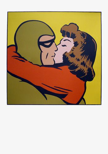 """""""Another Big Kiss"""" by Dick Frizzell. Available at Smyth Galleries - www.smythgalleries.co.nz"""