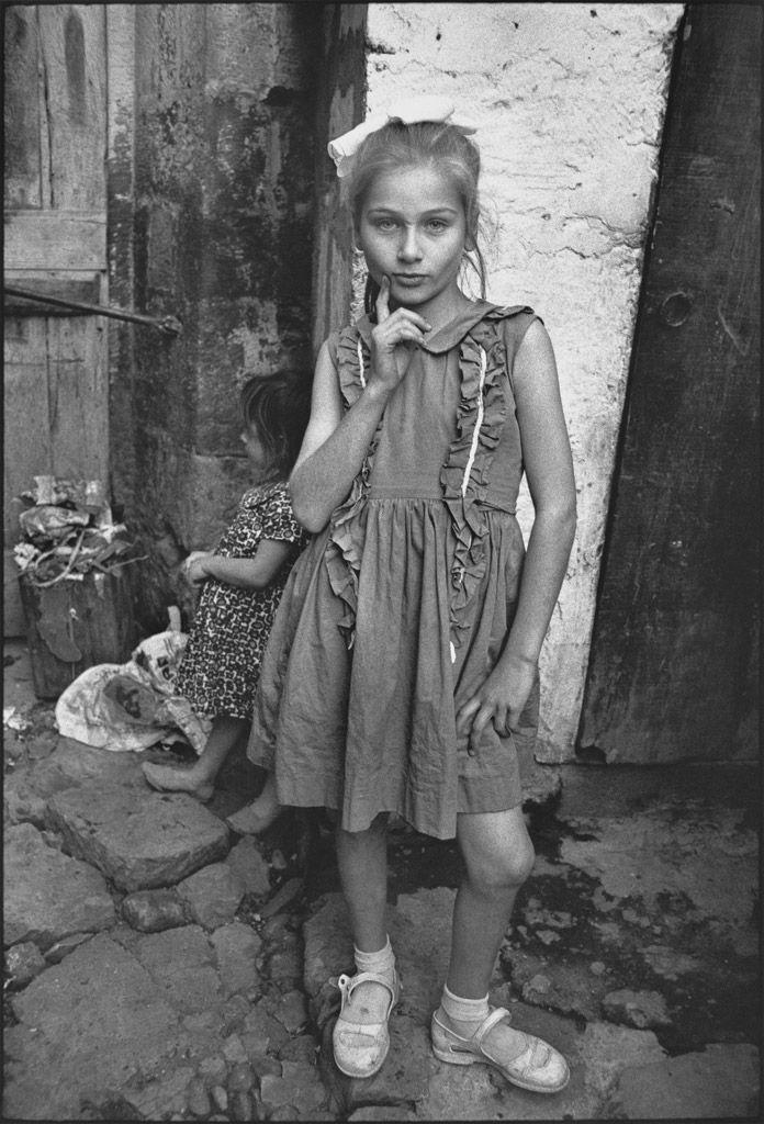 Mary Ellen Mark, Beautiful Emine posing, Trabzon, Turkey, 1965.