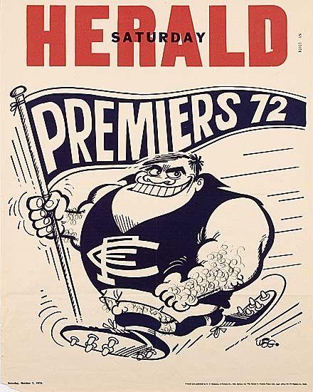 1972 Grand Final : Blueseum - Online Carlton Football Club Museum