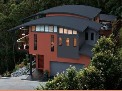 roof and house color combinations we have selected colorbond deep ocean for our roof fascia. Black Bedroom Furniture Sets. Home Design Ideas