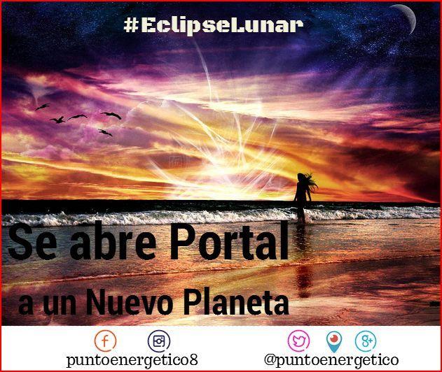 Este #Eclipse abre el portal a un Nuevo Planeta con una comprensión mas profunda de la Humanidad, de nuestro propósito y de lo que se trata la Vida #energía #amor #abundancia #cuántico #bienestar #divinidad #universo #meditación #cosmos #eclipse #lunallena #lunasangrante